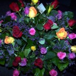 mixed roses vase  3 dozen  200.00