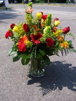 MD 125 sunshine vase