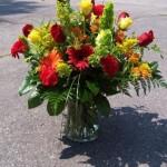 mixed vase 125.00