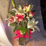 rose starfighter vase  $75.00