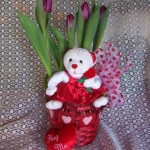 tulip bear  35.00