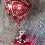 balloon bear and 1/2 # chocolates  30.00